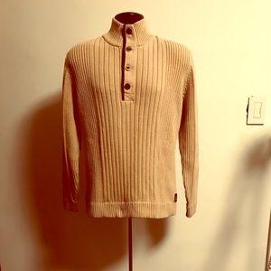 Eddie Bauer men's sweater sz L large  100% cotton